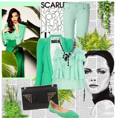 """""""Mint"""" by virtualcupcakes ❤ liked on Polyvore"""