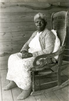 Rose Holman, age about 84, ex-slave in Webster County. 1930s WPA photograph courtesy Mississippi Department of Archives and History.