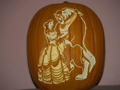 Beauty and the Beast pumpkin 2