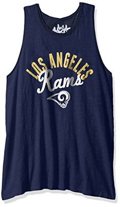 NFL Los Angeles Rams Touch by Alyssa Milano Homerun T-back tank top