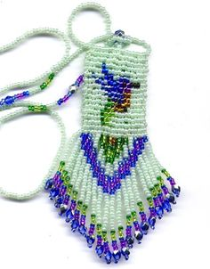 Little Hummingbird Amulet Bag