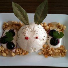 'Yuki usagi' snowy rabbit cheese cake