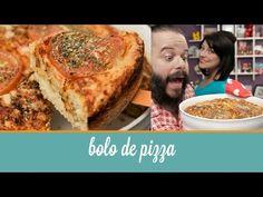 Bolo de Pizza | Cozinha para 2 - YouTube Ingredientes: 2 xícaras e meia de farinha de trigo com fermento 1 xícara de leite 1/3 de xícara de óleo 1 xícara de parmesão ralado Molho de tomate Tomate em rodelas Orégano 3 ovos
