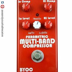 """#Repost @axeandyoushallreceive: """"This can solve about 99% of your compressor needs for bass or guitar."""""""