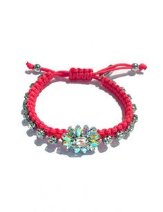 Crystal Floral Bracelet - Accessories Crystals, Bracelets, Floral, Accessories, Jewelry, Design, Bangles, Jewellery Making, Jewels