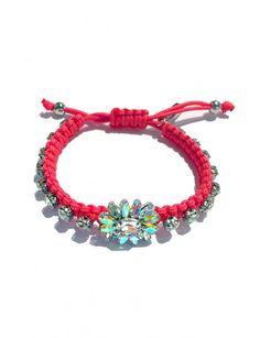 Crystal Floral Bracelet - Accessories Crystals, Bracelets, Floral, Accessories, Jewelry, Design, Jewlery, Bijoux, Florals