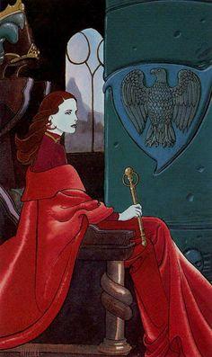 III. The Empress - Secret Tarot by Marco Nizzoli
