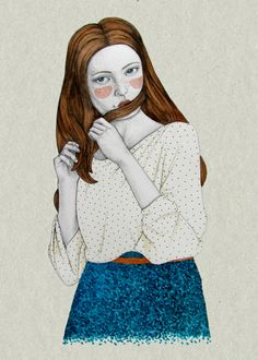 Clementina by Sofia Bonati, via Behance