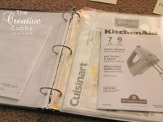 product manual organization