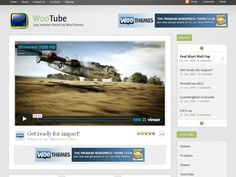 WooTube is a video player. Need we say more? Based on the same style that has made Busy Bee & Fresh News so popular, WooTube offers you some amazing multimedia goodness. Why not get cracking straight away… All you need is a camera, a nice smile and obviously this theme!
