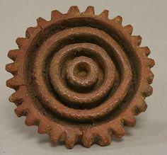 Stamp  Date:     5th–6th century Geography:     Costa Rica Culture:     Atlantic Watershed Medium:     Ceramic