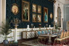 """Check out this @Behance project: """"la blue chateau royal des princesses"""" https://www.behance.net/gallery/47479891/la-blue-chateau-royal-des-princesses"""