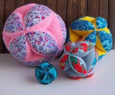 Amish puzzle balls
