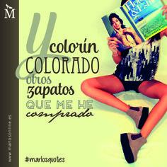 Y colorín colorado otros zapatos que me he comprado. #MarlosQuotes