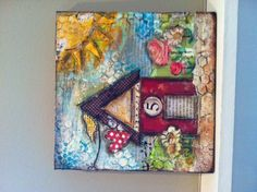 mixed media by Donna  at The Inspiration Station, Stafford Springs, CT