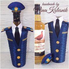 Подарочное оформление бутылок ручной работы. Ярмарка Мастеров - ручная работа. Купить Оформление подарочных бутылок. Handmade. Декор бутылок