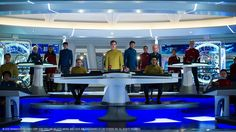New clip and character videos for Star Trek Beyond show how the crew are faring deep into their five-year mission. Plus a look at newcomer Jaylah. Star Trek Beyond, Star Trek Discovery Ship, Best Sci Fi Series, Star Trek Bridge, Star Trek Reboot, Star Trek Images, Star Trek Movies, Starship Enterprise, Star Trek Ships