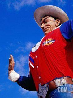 Big Tex', Texas State Fair, Dallas, United States of America Photographic Print by Richard Cummins at Art.com