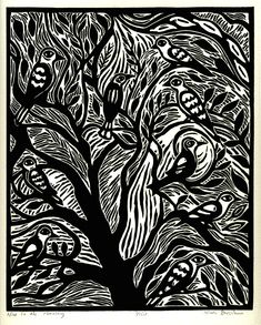 linocut art - Google Search