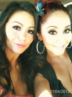 I wanna meet both of them... SO badly.   Love you Jwow & Snooki.