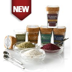 Limited Edition Fusion Flavored Salt Sampler Set - Gourmet