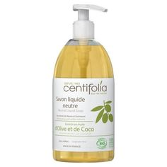 Savon liquide neutre Gel Douche Bio, Coco, Bottle, Natural, Olive Oil, Cleaning, Flask, Nature, Jars