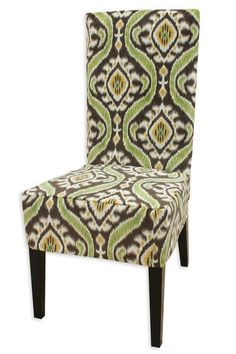 Uzbek Chocolate Collection Parsons Chair Slip Cover - Dining Chairs - Furniture | HomeDecorators.com