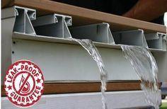 waterproof under deck design - Google Search