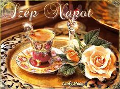 Good Morning Good Night, Good Day, Dream Images, Tea Cups, Magic, Lights, Tableware, Nature, Pictures