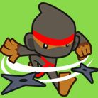 ninja monkey from bloons tower defense 5