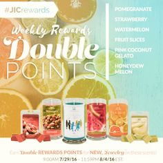 Double Reward Points::: Come visit http://ift.tt/1IeUHGb  #candles #ecofriendly #healthy #lush #sale #nvusddjic #jewelry #homedecor #interiordesign #spa #relax #yogi #sahm #bosslife #fruit #spring #summer #july4 #independenceday #summer16 #promo #doublepoints