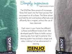 Chemical Free Cleaning, Clean Pores, Wet Wipe, Fibres, Natural Cleaning Products, Life, Ideas, Natural Cleaners