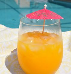 Mango margarita by the pool... can't wait for summer!