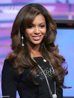 Beyonce hairstyle Brazilian virgin human hair long natural wavy  color mixed glueless lace front & full lace wig