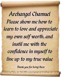 Archangel Chamuel Invocation