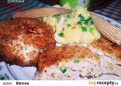 Netradiční karbanátky Mashed Potatoes, Ethnic Recipes, Food, Whipped Potatoes, Smash Potatoes, Eten, Meals, Shredded Potatoes, Diet