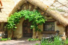Snow White and the dwarves cottage