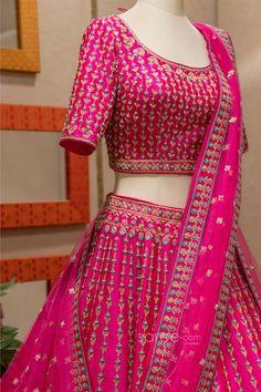Designer Bridal Lehenga, Bridal Lehenga Choli, Saree Wedding, Indian Wedding Outfits, Indian Outfits, Indian Dresses Online, Sherwani, Festival Wear, Two Piece Skirt Set