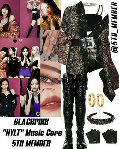 Blackpink Fashion, Kpop Fashion Outfits, Girls Fashion Clothes, Korean Fashion, Other Outfits, Stage Outfits, Girl Outfits, Retro Outfits, Trendy Outfits