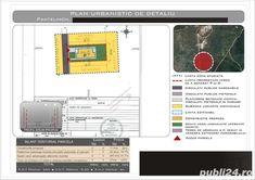 Plan urbanistic de detaliu. Pret pud de la 650 euro