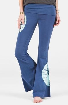 Volcom 'Warrior' Flare Yoga Pants #Vintage #Retro #Hippie #FlowerPower
