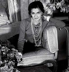 I'm not jazzed by the possibility that Coco Chanel may have been a Nazi collaborator, but the woman knew how to layer pearls. She dropped waists, used jersey, introduced trousers, and basically drove people bonkers. The fact that there were fake Chanels even back then are testament to her influence.