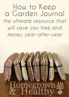 Two years ago I made a huge gardening mistake: I didn't keep a garden journal. This simple mistake ended up costing me in the long run. Here's how you can keep a garden journal, making it the ultimate resource that will save you time and money year-after-year.