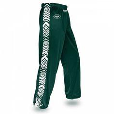 NFL Officially Licensed New York Jets Zebra Print Stadium Pant