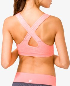 Heathered Sports Bra via FOREVER21. $10.80 #fitness #exercise #sportsbra