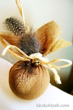 I think this would be great even adding done potpourri in it for the tree....going to do this