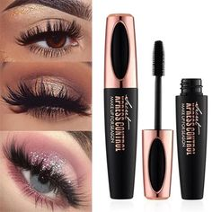 Shop and get your own beauty Magic Mascara. Tricks and hacks to get longer and thicker eyelashes. DIY natural lengthening and waterproof. Check out how to apply this and the before and after results! Magic Mascara Tips and Tricks Curling Mascara, Fiber Lash Mascara, Mascara Wands, Fiber Lashes, Applying Mascara, Silk Lashes, Eyeliner, Thicker Eyelashes, Make Up