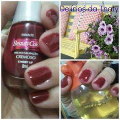 Delírios da Thaty: Esmalte e Aromas com Cherry Uo da Beauty Color