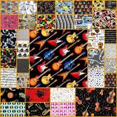 Music Fabric Sale 30% off