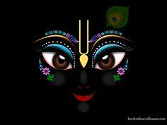 Heart Catching Krishna's Face. :-)